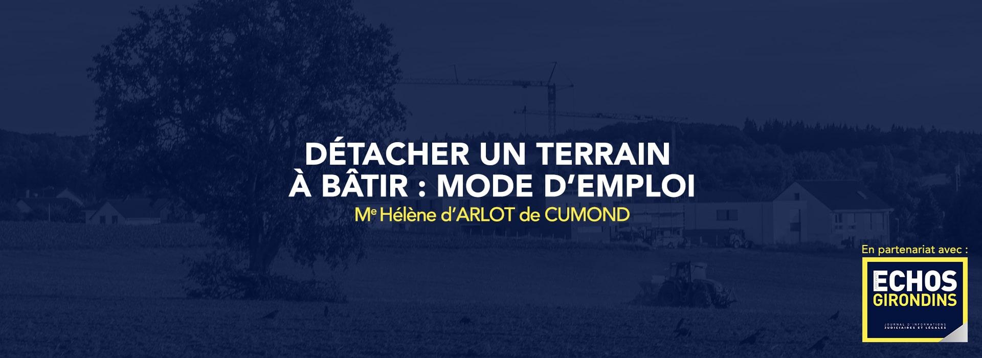 article ECHOS De Cumond