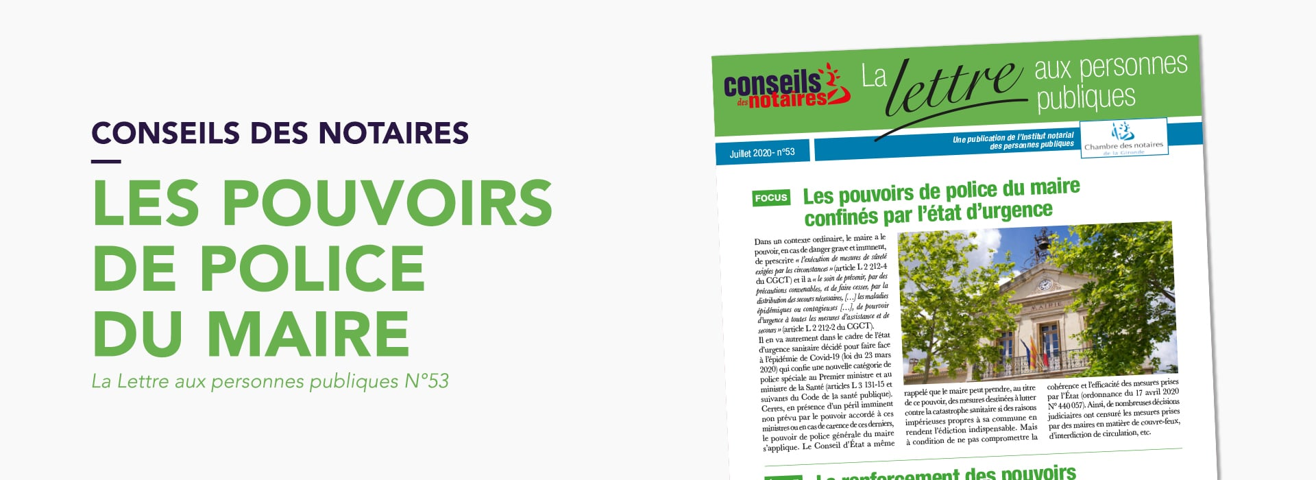 Article PouvoirsPoliceMaire